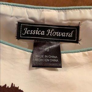 Jessica Howard Dresses - Jessica Howard, Woman's dress w/blue accents